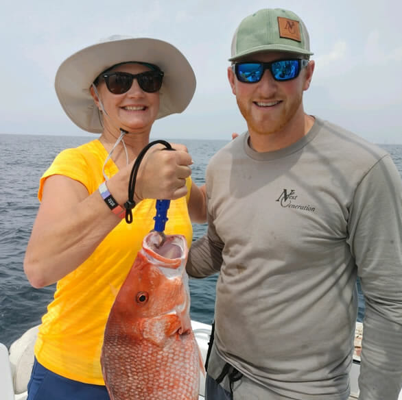 Red Snapper, Pensacola Charter